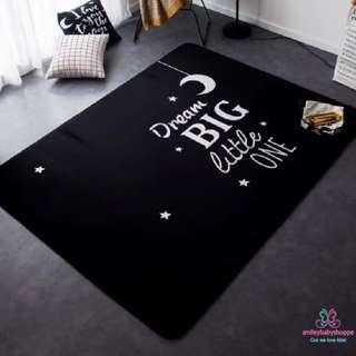 *IN STOCK SALE @ $69!*Chic Black Carpet Series Kids Children's Room Decor Home Decor Carpet Rug Mat