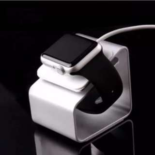 Apple Watch Charging Dock for Series 1 2 & 3 (Silver Color)