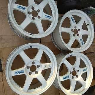 """Rim 17"""" Volk Racing TE37 ORIGINAL pcd 100/5h"""