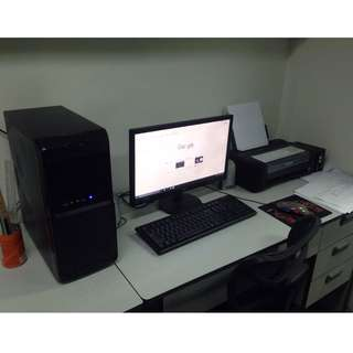 Office Computer set. High-speed gaming specs.REPRICED!!!