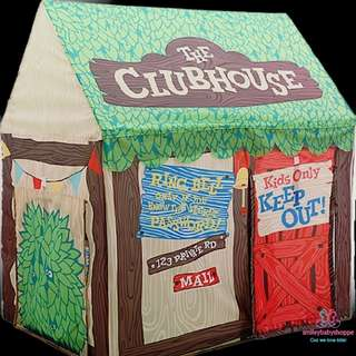 *SALE @ $35!*Brand New Unique Creative Kids Outdoor Indoor Play Tent Forest Clubhouse Design Children Girls Boys Pretend Play Role Play Play House Preorder