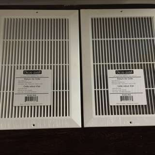 Brand New Decor Grates Return Air Grilles