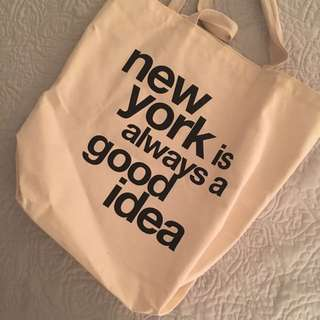 Everyday large tote from NYC