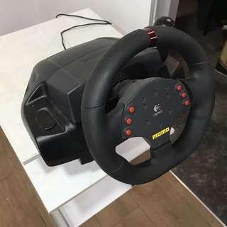Logitech Mono Racing Wheel And Pedals Setup