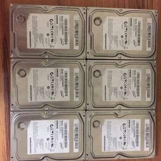 Desktop 500GB SATA HARD DRIVE , Samsung each . Available 6pcs