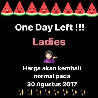 ✨One Day Left Promo✨