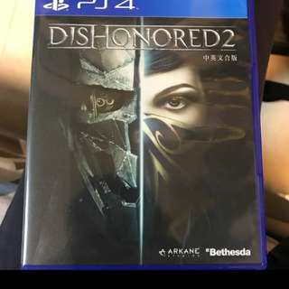 CHEAP PS4 Dishonored 2 game