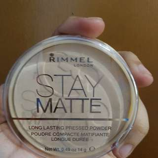 Rimmel Stay Matte Long Lasting Powder In Transparent