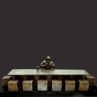 Last Supper - sculpture by Tim P. Schmalz