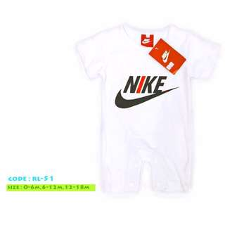 Nike romper and shoes for babies