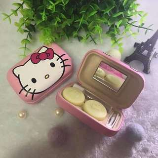 Hello Kitty Contact Lenses Case