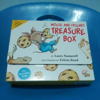 As Good As New Mouse & Friends Treasure Box Children Story Books Set