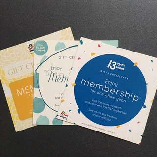 The Picture Company Membership GC