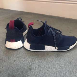 Adidas Nmd Blue And Hot Pink Deadstock Size 7