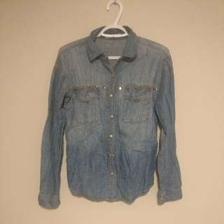 Forever XXI denim Shirt