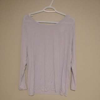 Victoria Secret PINK - Purple Stretchy Shirt