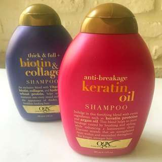 OGX Keratin Shampoo Anti Breakage Keratin Oil