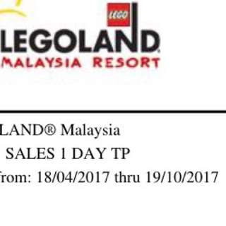 Legoland 1 day ThemePark only ticket