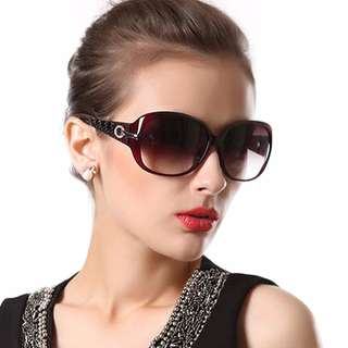 Duco Ladies Classic Sun Glass Polarized Sunglasses For Women UV Cut 100% UV 6214 JAPANESE BRAND (FREE SHIPPING FROM JAPAN)