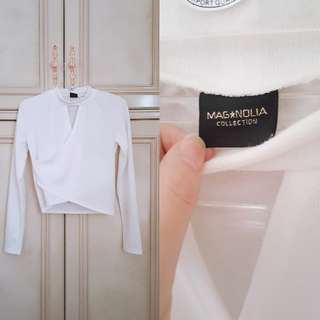 (NEW) Magnolia Long Sleeve Top // Atasan Wanita Lengan Panjang