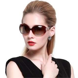Duco Ladies Classic Sun Glass Polarized Sunglasses UV Cut 1220 CLASSIC ELEGANT (FREE SHIPPING FROM JAPAN)