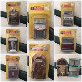 Jukebox Miniature with Music