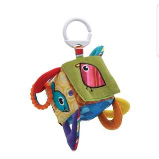 Clutch Cube Clip On Development Baby Infant Lamaze Tomy New Newborn