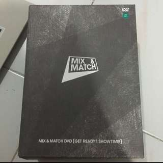 MIX & MATCH DVD WITH POLAROID BOOK AND PHOTOCARD
