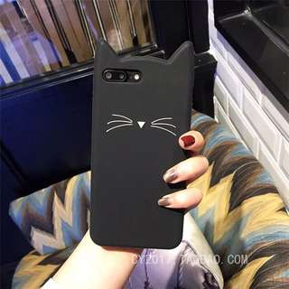3D Cat Phone Casing