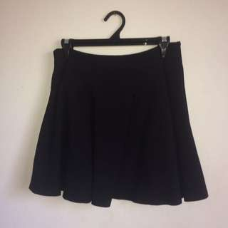 Black High-waisted Skirt