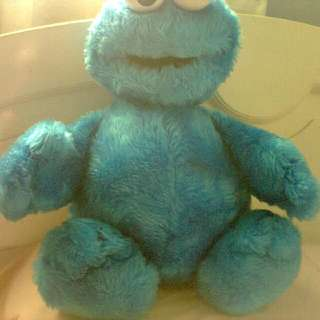 Cookie Monster Doll Authentic