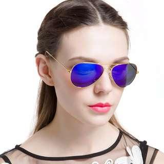LianSan Sunglasses Retro Classic Tear Drop Outdoor Men Men's Women Ladies Tear Drop Mirror Lens Sunglasses (FREE SHIPPING FROM JAPAN)