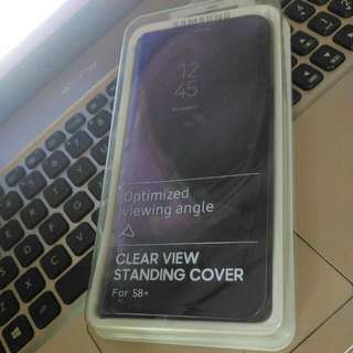 Clear View Standing Cover S8+
