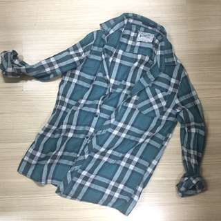 Green Flannel (Cotton On)