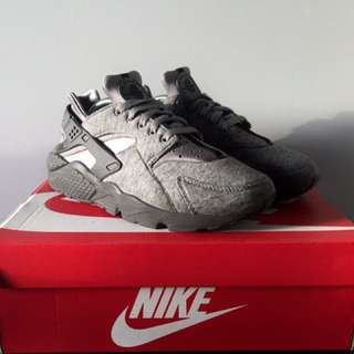 Nike Air Huarache Run TP (Cool Grey/Black-White)