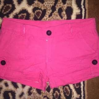 Hotpants pink preloved second