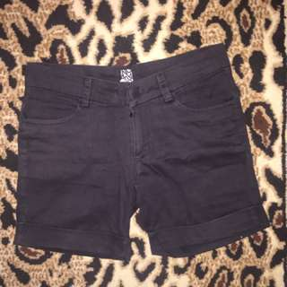 Hotpants celana pendek black hitam