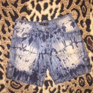 Hotpants celana pendek jeans blue biru