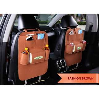 CAR BACKSEATS STORAGE ORGANIZER SPACE  SAVE ACCESSORIES WHOLESALE PRICE