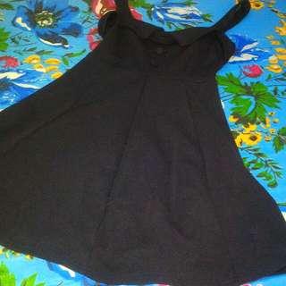 Navy Outer Skirt