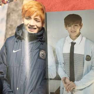 BTS V VELICITAS SMALL PHOTOBOOK