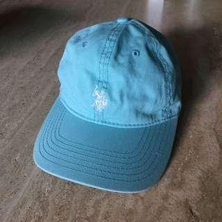 U.S. POLO ASSN. 湖水綠帽子含運