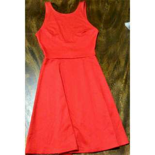New H&M Low Back Dress
