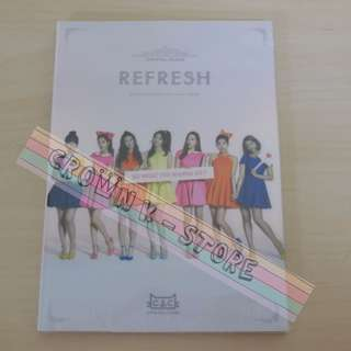 [CRAZY DEAL 50% OFF FROM ORIGINAL PRICE][READY STOCK]CLC KOREA 3RD MINI ALBUM REFRESH (NO POSTER) SEALED ! NEW!OFFICIAL ORIGINAL FROM KOREA (PRICE NOT INCLUDE POSTAGE)(PLEASE READ DETAILS FOR MORE INFO)