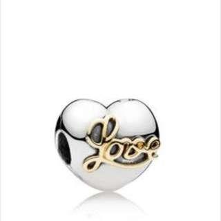 Pandora Heart Of Love Clip / Charms