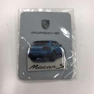 Brand New Porsche Macan S Badge Pin