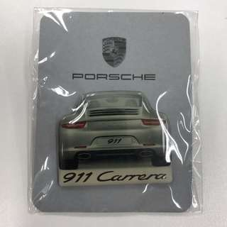 Brand New Porsche 911 Carrera Badge Pin