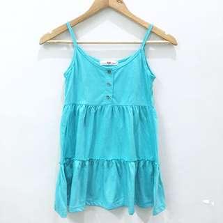 Boho Style Blue Green Top