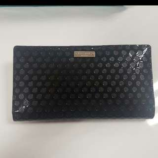 New Kate Spade Wallet Stacy Black
