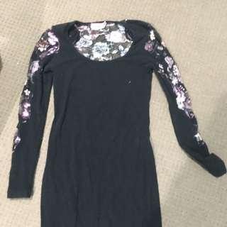 Long sleeve dress, size 10